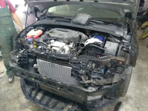 процесс ремонта Ford Focus 2016 1,0 из США