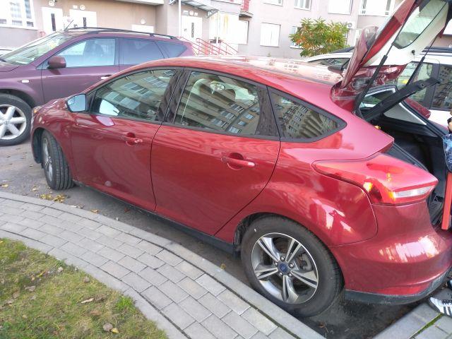 Ford Focus Se после ремонта