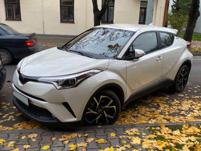 Отзыв о Toyot CH-R из США