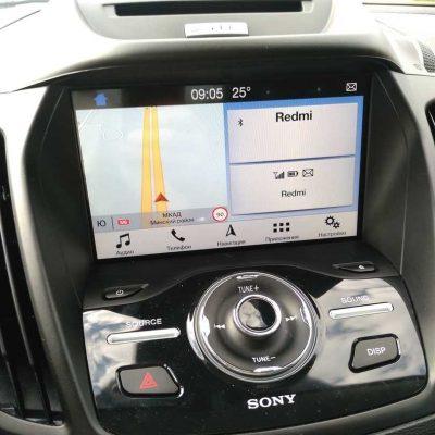 Ford Escape из США навигация SYNC3